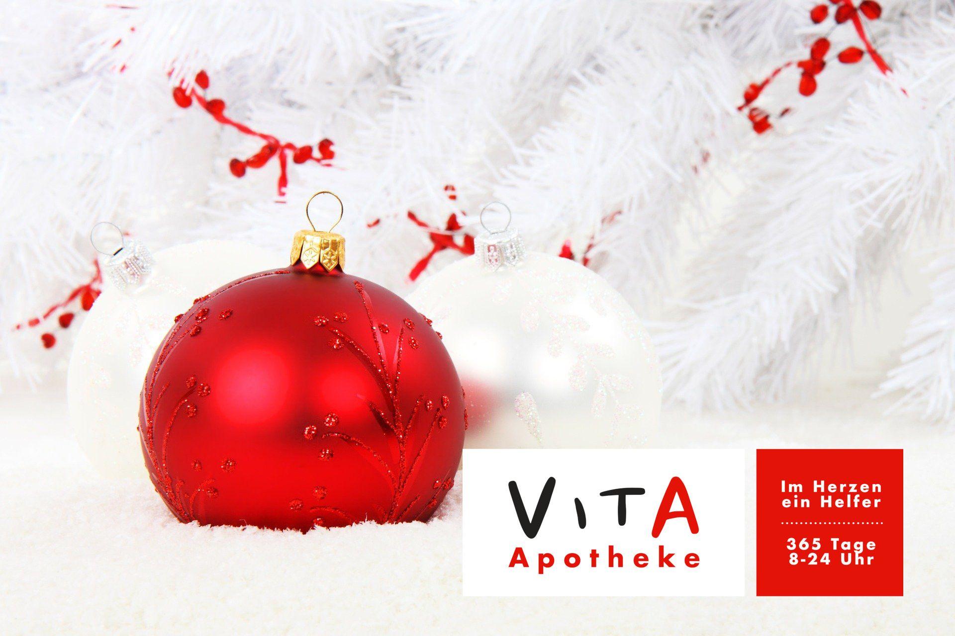 Weihnachten, Silvester und Neujahr geöffnet