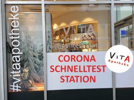 Corona Schnelltest Station